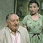 Nikolai Chistyakov and Bronislava Tronova in My s vami gde-to vstrechalis (1954)