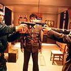Kim Tae-Woo, Lee Byung-hun, Kang-ho Song, and Kim Myeong Su in Gongdong gyeongbi guyeok JSA (2000)