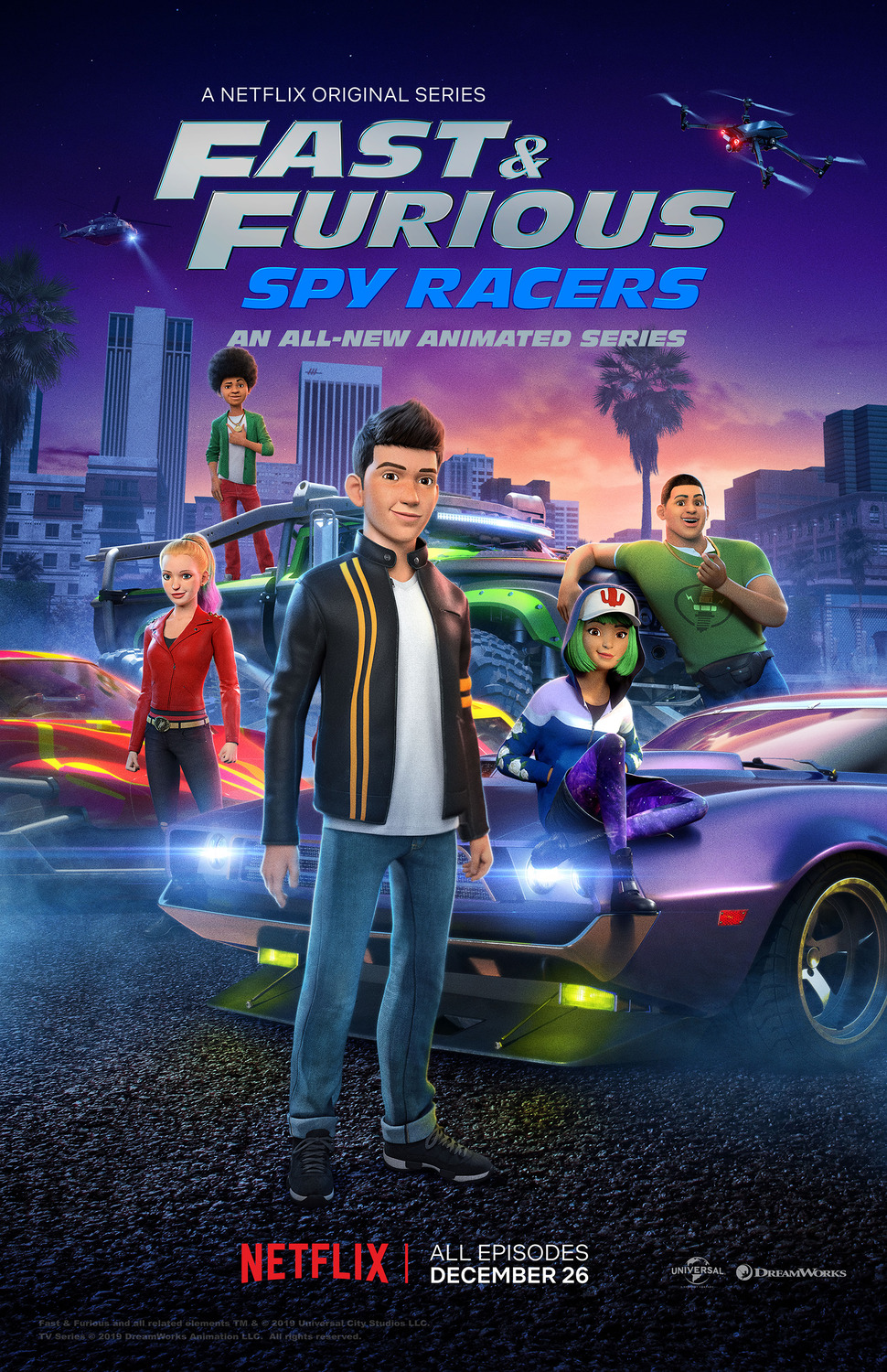 Fast & Furious Spy Racers (2019) Dual Audio NF WEB-DL [Hindi – English] x264 AAC ESUB