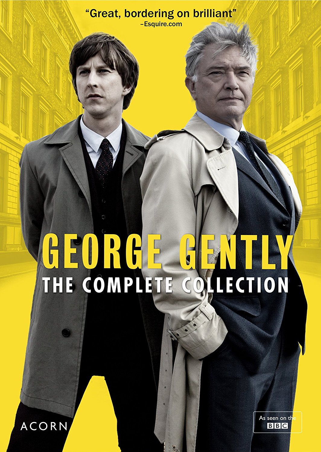 Lee Ingleby and Martin Shaw in Inspector George Gently (2007)
