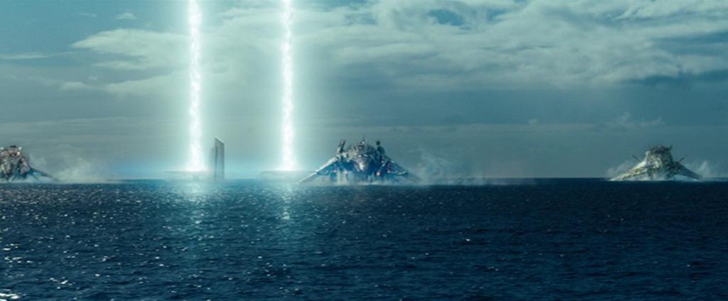 Salah satu adegan di dalam film Battleship