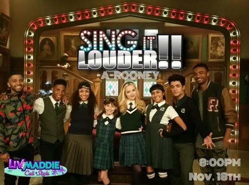 Liv And Maddie Sing It Louder A Rooney Tv Episode 2016 Imdb