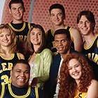 Anthony Anderson, Daniella Deutscher, Megan Parlen, and Reggie Theus in Hang Time (1995)