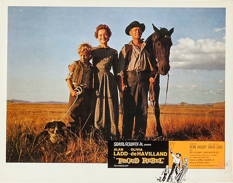 Image result for the proud rebel 1958 poster