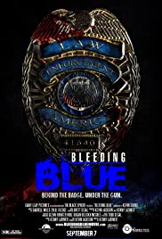 Bleeding Blue Poster