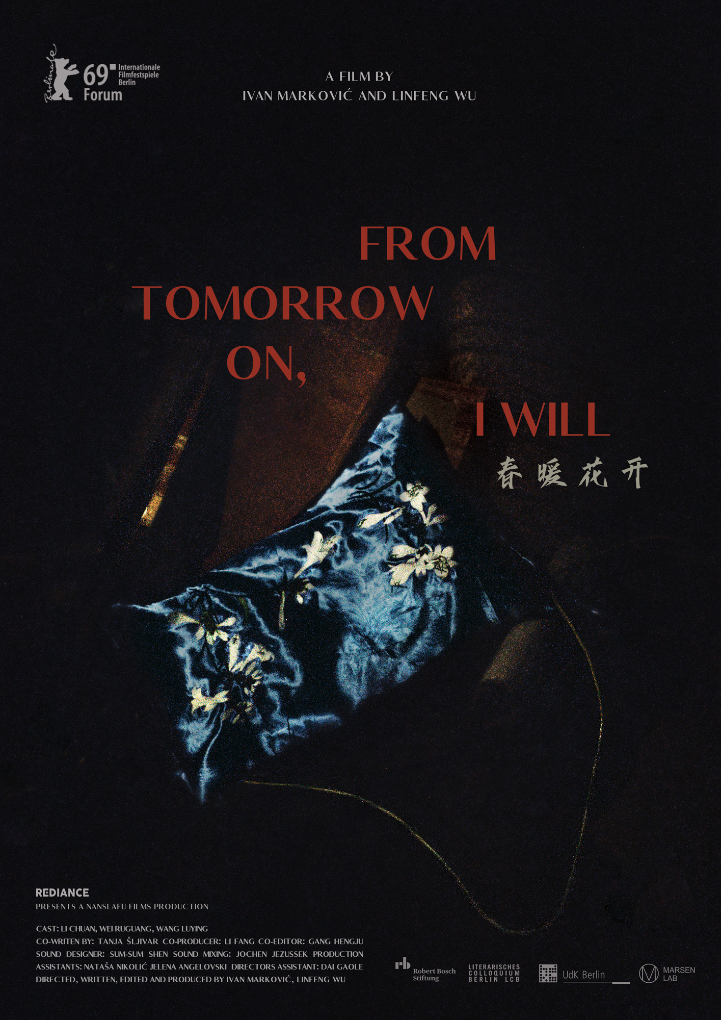 "Risultati immagini per ""From Tomorrow On, I Will"" Ivan Markovic Wu Lin Feng"