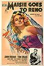 Maisie Goes to Reno (1944) Poster