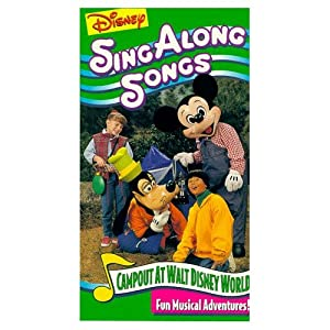 Mickey's Fun Songs: Campout at Walt Disney World by Gary Halvorson
