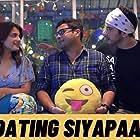 Ankit Shah, Buneet Kapoor, and Shagun Sharma in Dating Siyapaa (2020)