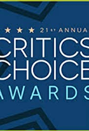 21st Annual Critics' Choice Awards Poster