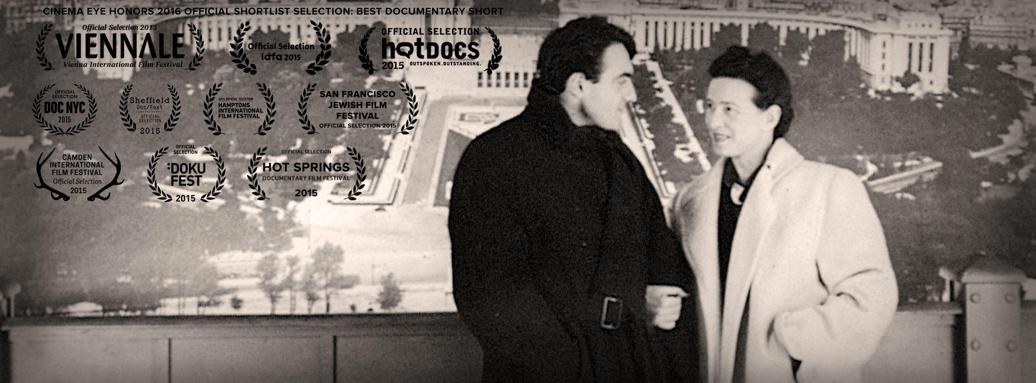 Simone de Beauvoir and Claude Lanzmann in Claude Lanzmann: Spectres of the Shoah (2015)