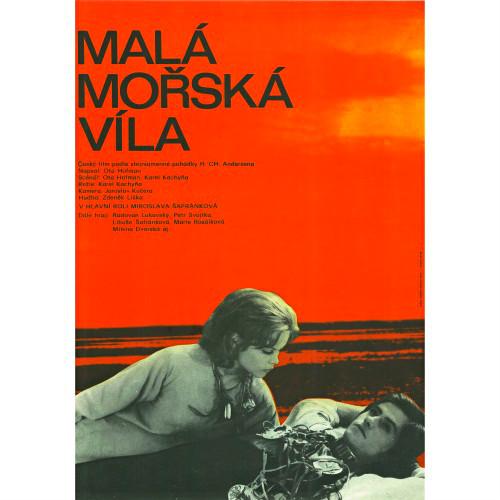 Miroslava Safránková and Petr Svojtka in Malá morská víla (1976)