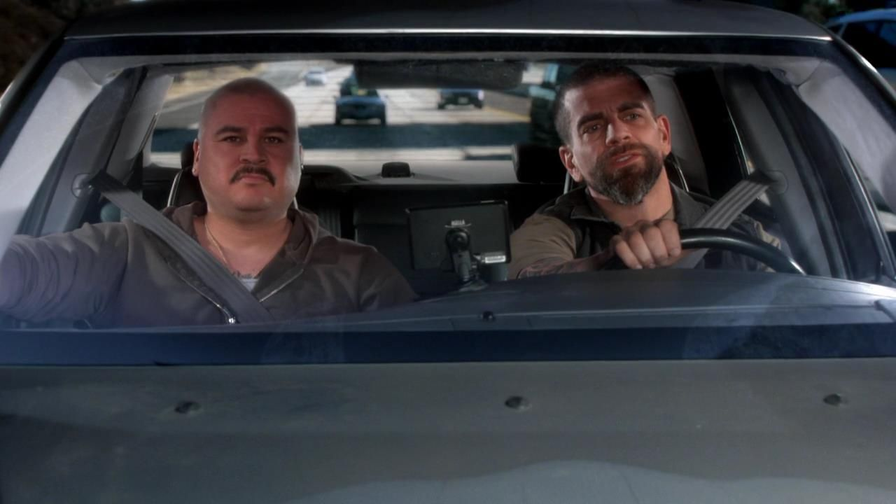 Craig Gellis and Frank Alvarez in The Big Bang Theory (2007)