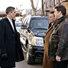 Jim Caviezel and Tony Darrow in Person of Interest (2011)