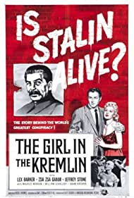 Lex Barker, Zsa Zsa Gabor, and Maurice Manson in The Girl in the Kremlin (1957)