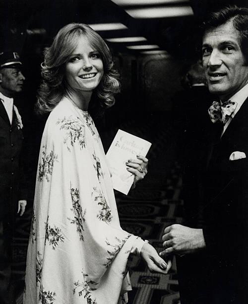 Stan Dragoti and Cheryl Tiegs