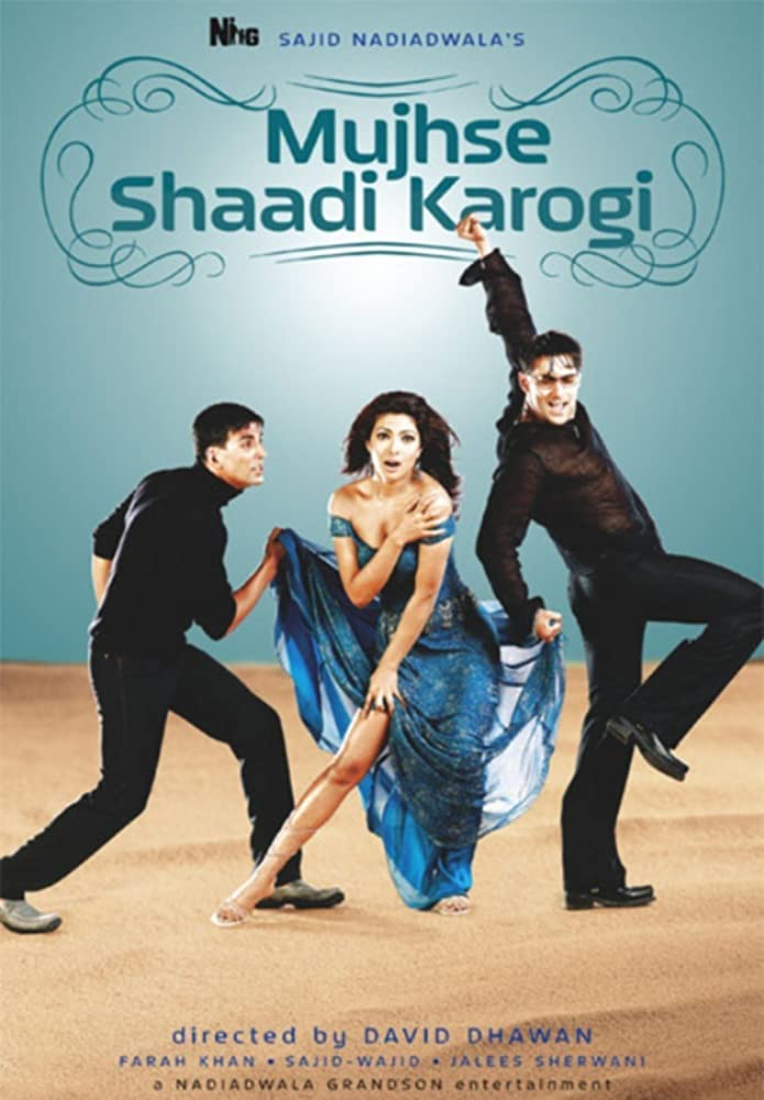 Mujhse Shaadi Karogi 2004 Hindi Movie 499MB BluRay Download