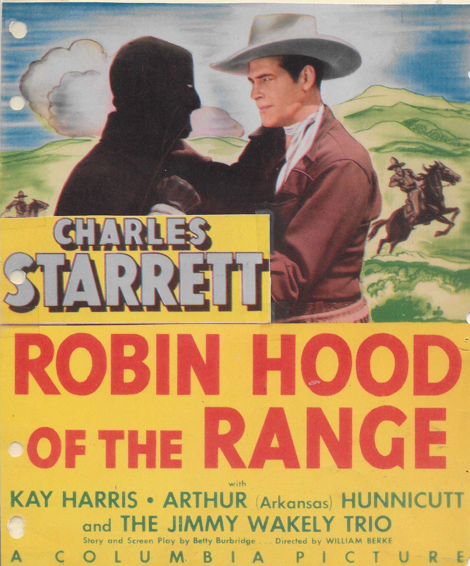 Charles Starrett in Robin Hood of the Range (1943)