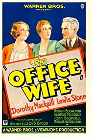 The Office Wife (1930) Poster - Movie Forum, Cast, Reviews