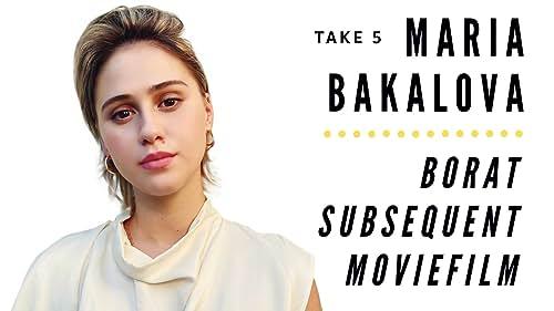 Take 5 With Maria Bakalova of 'Borat Subsequent Moviefilm'
