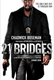 Chadwick Boseman in 21 Bridges (2019)