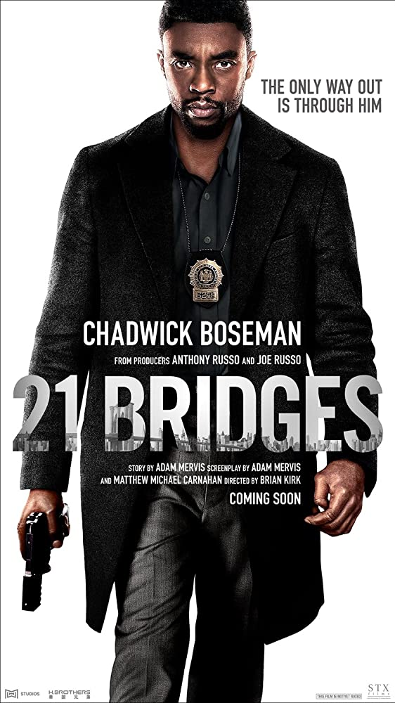 Chadwick Boseman in 21 Bridges (2019)