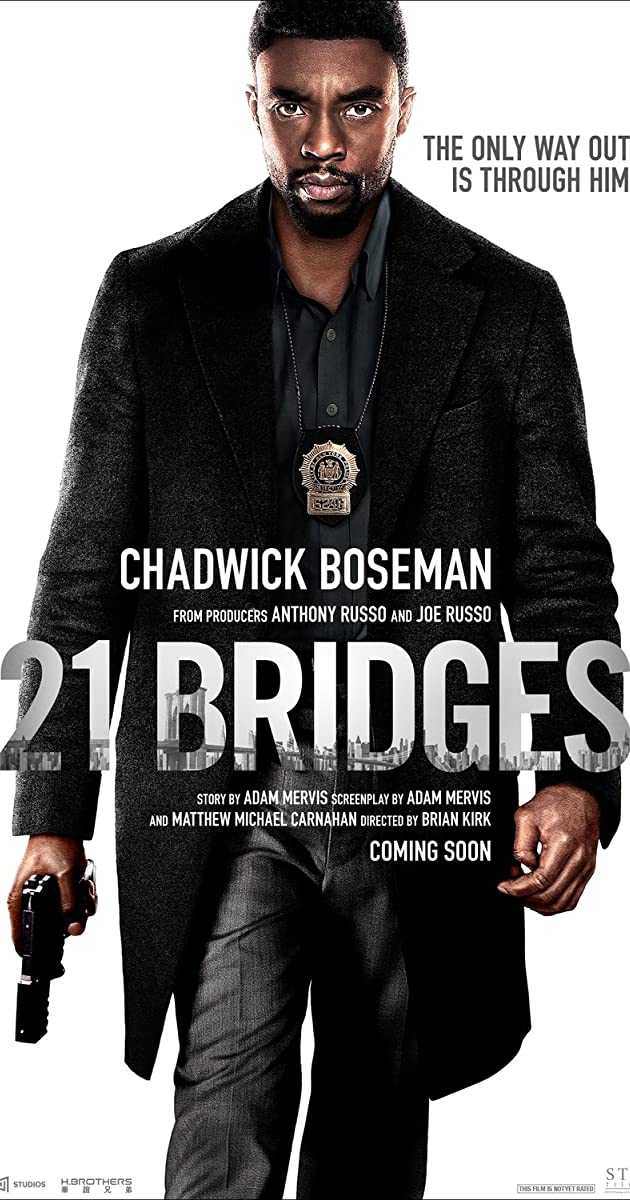 Watch Full HD Movie 21 Bridges (2019)