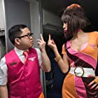 Bai Ling and Matthew Moy in Exorcism at 60,000 Feet (2019)