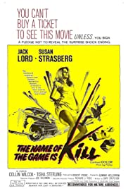 The Name of the Game Is Kill! Poster