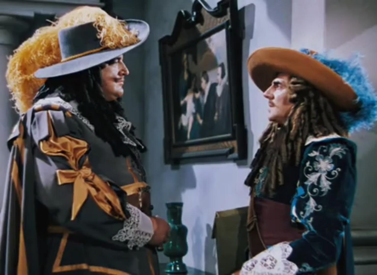 Fortunio Bonanova and Laird Cregar in The Black Swan (1942)