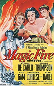 Direct link download hd movies Magic Fire Fred Zinnemann [1280x720p]