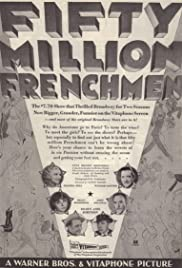 50 Million Frenchmen Poster