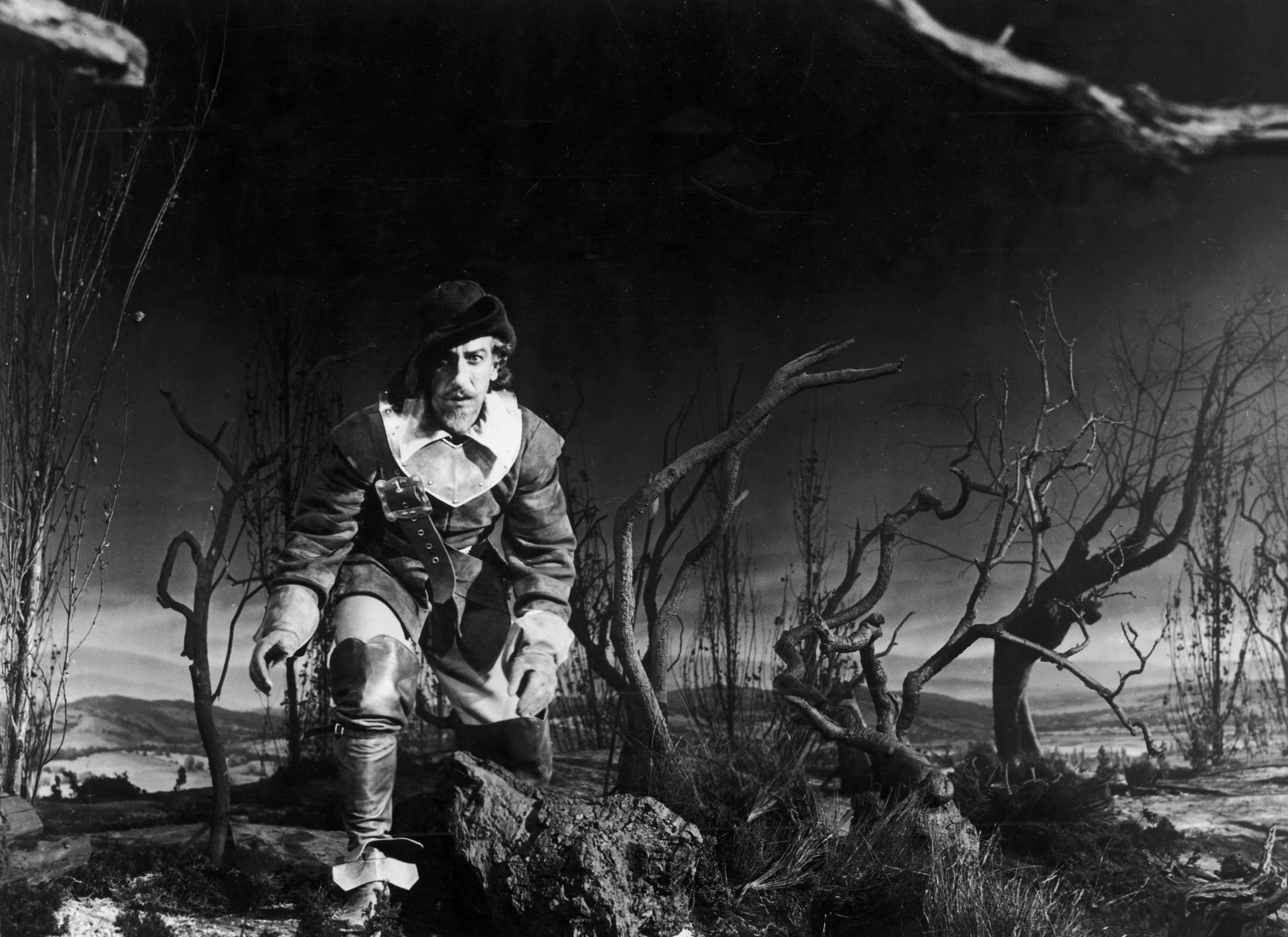 José Ferrer in Cyrano de Bergerac (1950)