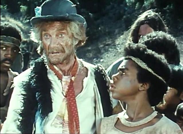 Jonathan Harris and Tierre Turner in Ark II (1976)
