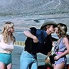 Darby Hinton, Jeanine Vargas, and Lynda Wiesmeier in Malibu Express (1985)