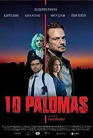 Nancy Dupláa, Guillermo Pfening, Alexia Moyano, and Alberto Ajaka in 10 Palomas (2021)