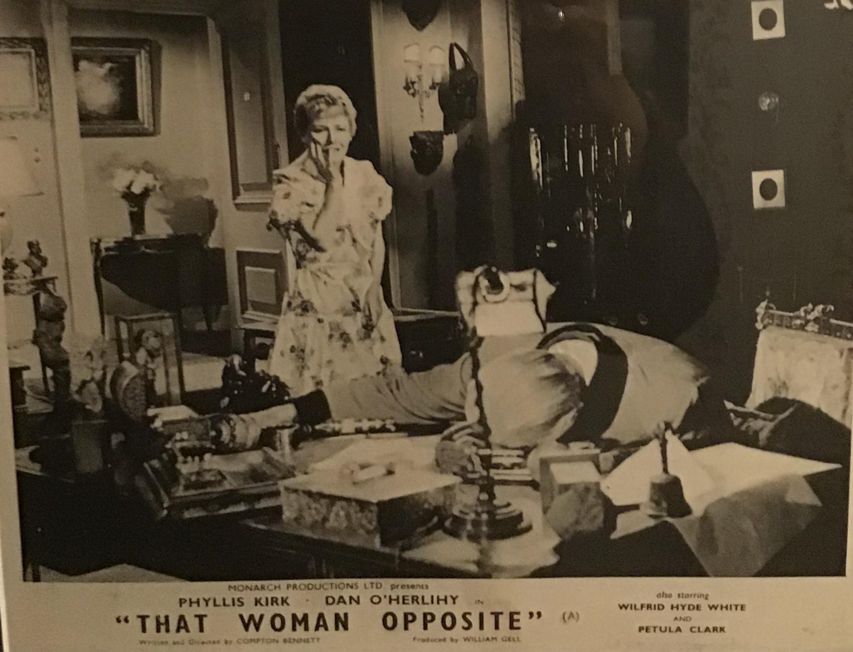 Petula Clark in That Woman Opposite (1957)