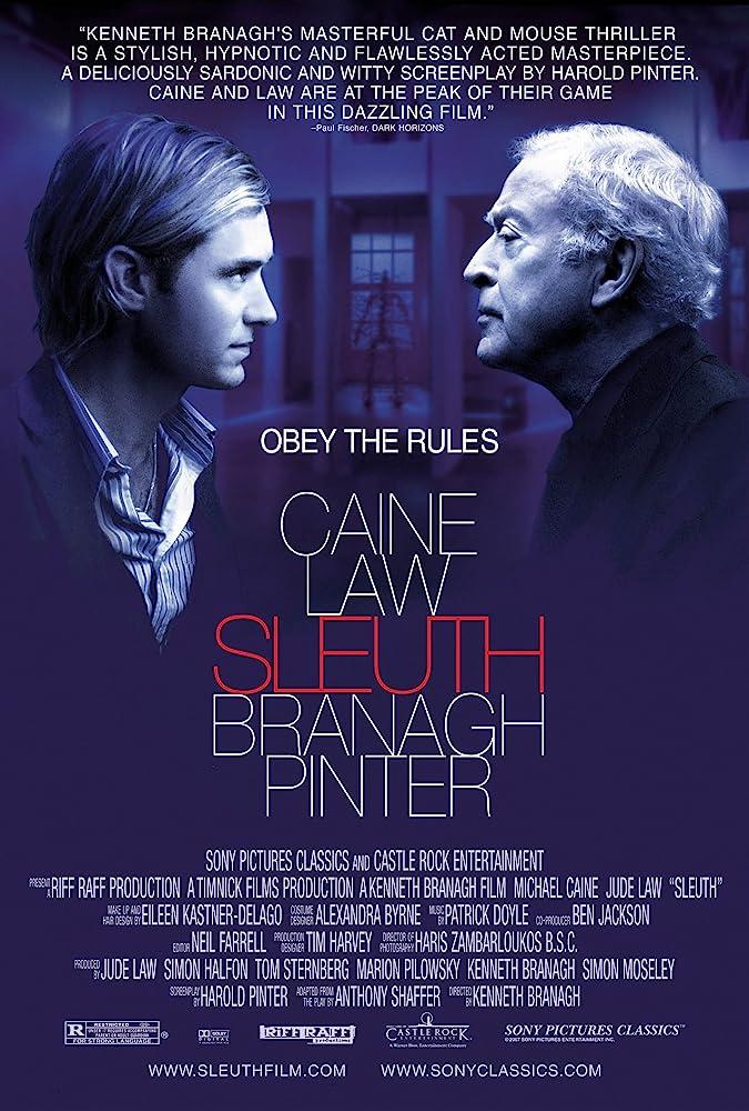 Sleuth (2007) เฉือนเหลี่ยม คนหักคม