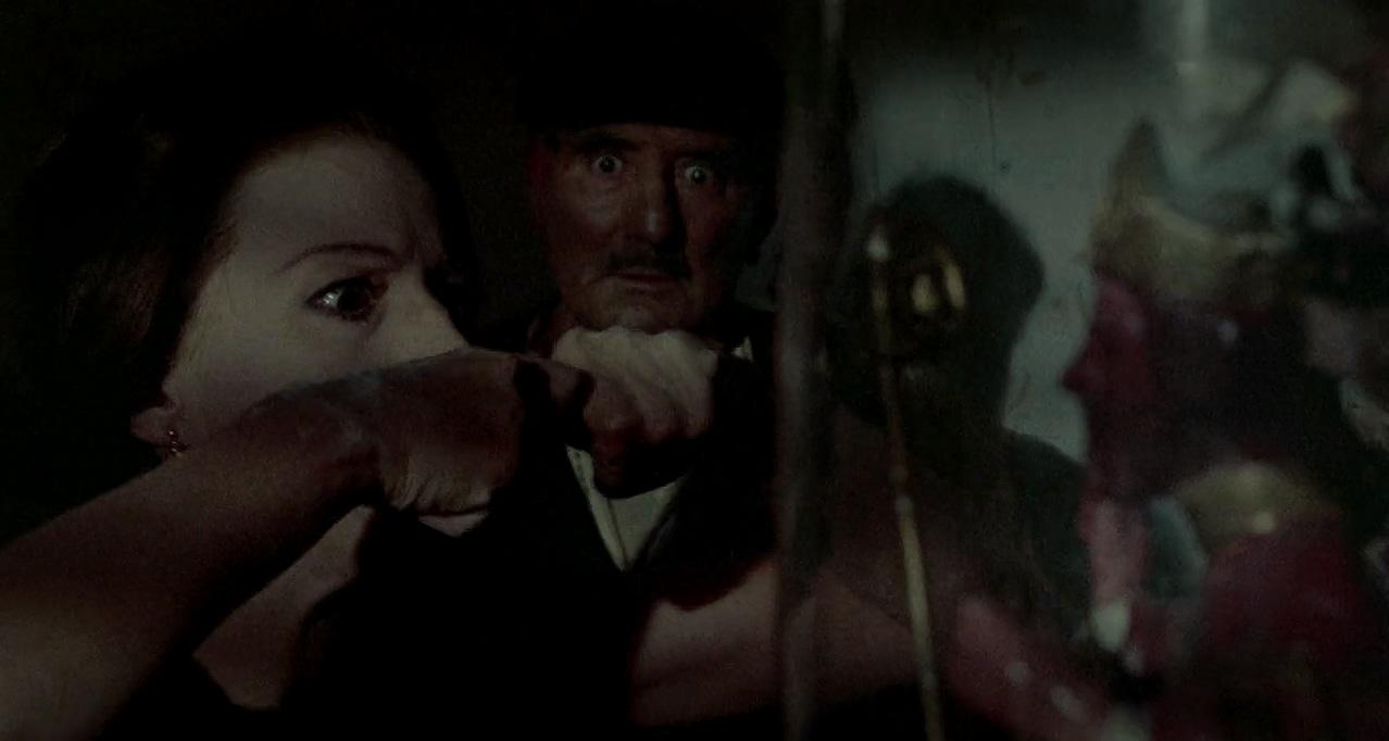 Silvana Mangano and Pietro Tordi in Le streghe (1967)