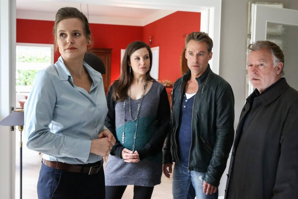 Anne Cathrin Buhtz, Marco Girnth, Andreas Schmidt-Schaller, and Valerie Koch in SOKO Leipzig (2001)