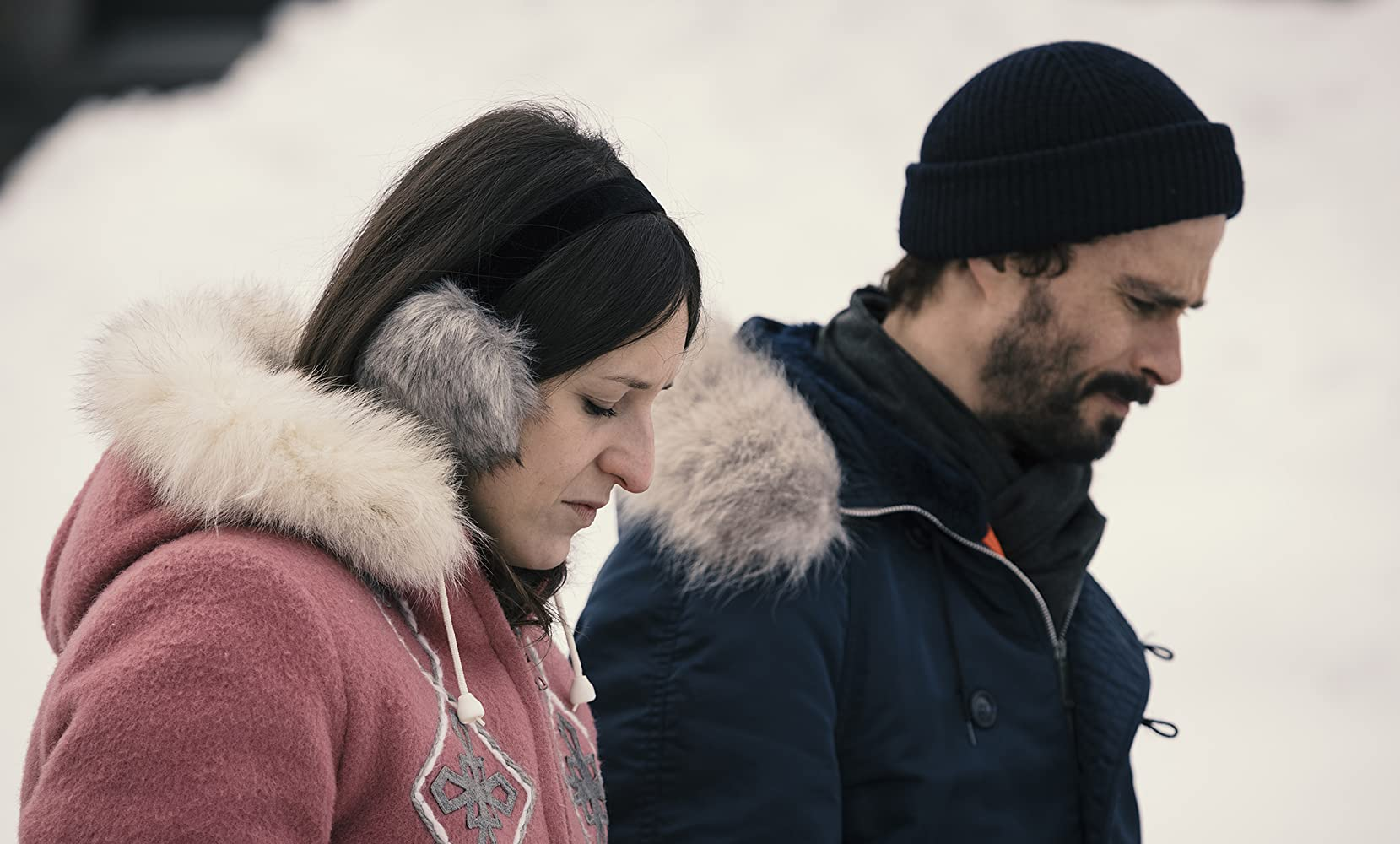 Patrick Hivon and Anne-Élisabeth Bossé in La femme de mon frère (2019)