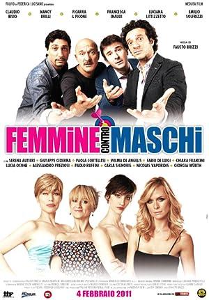 poster Femmine contro maschi