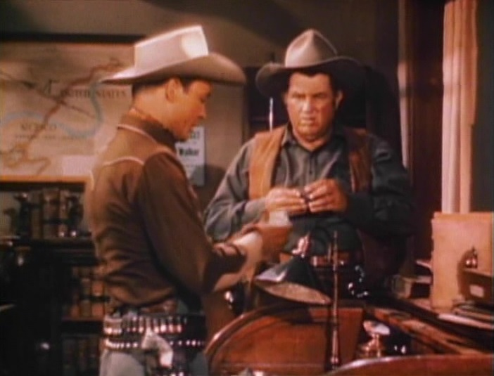 Roy Rogers in Bells of San Angelo (1947)