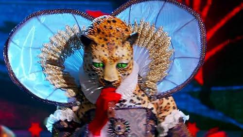 The Masked Singer: Leopard Performs Big Spender