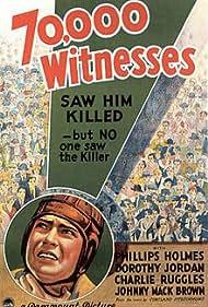 Johnny Mack Brown in 70,000 Witnesses (1932)