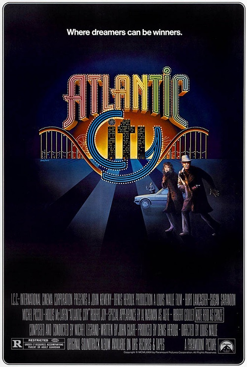 Burt Lancaster and Susan Sarandon in Atlantic City, USA (1980)