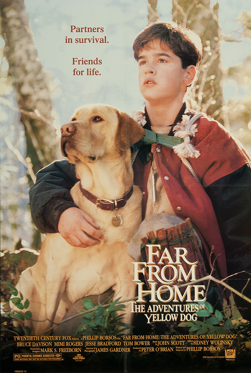 Far From Home The Adventures Of Yellow Dog 1995 Imdb