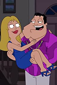 Seth MacFarlane and Wendy Schaal in American Dad! (2005)