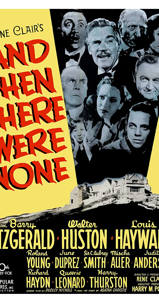 Subtitle of And Then There Were None