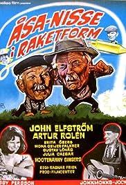 Åsa-Nisse i raketform Poster